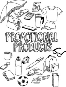 Promotional products doodle