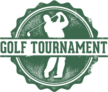 Golf Tournament Stamp