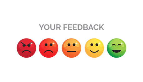 your feedback emoji